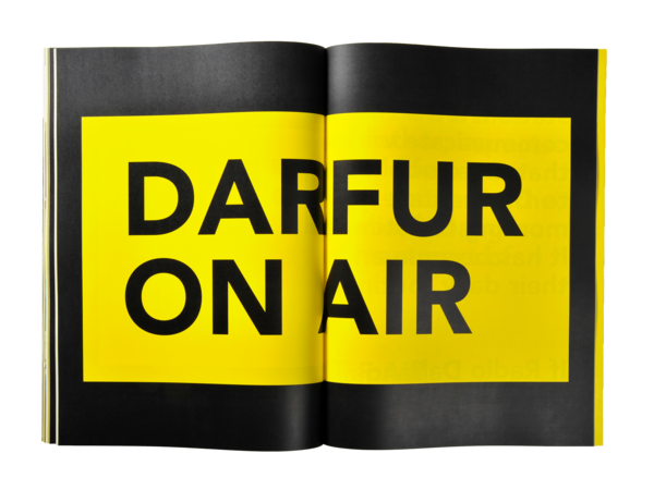 The only independent news in Darfur: Radio Dabanga.